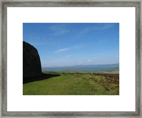 Grianan Of Aileach Framed Print