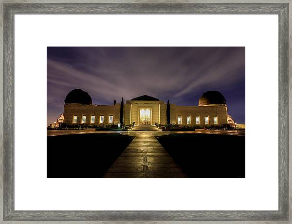 Griffith Observatory Framed Print by Robert Aycock