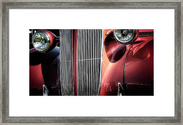 Willys Grill Framed Print