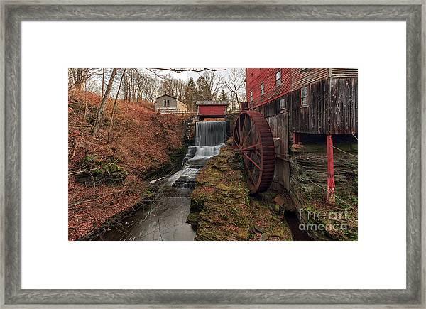 Grist Mill II Framed Print