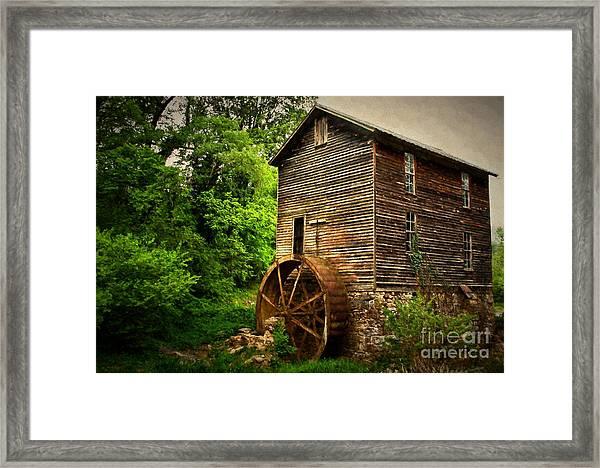 Gristmill  Framed Print