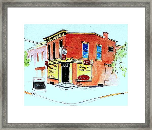 Grodzicki's Market Framed Print