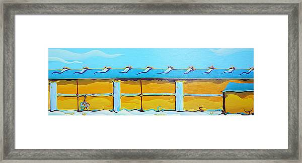 Grow House Groove-on Framed Print