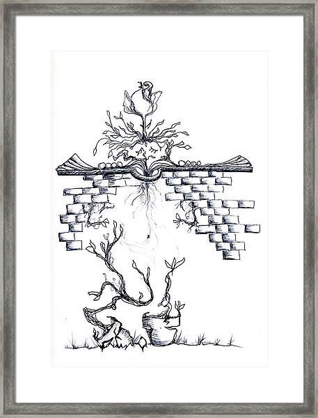 Growing Nowhere Framed Print