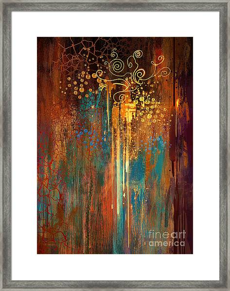 Framed Print featuring the painting Growth by Tithi Luadthong