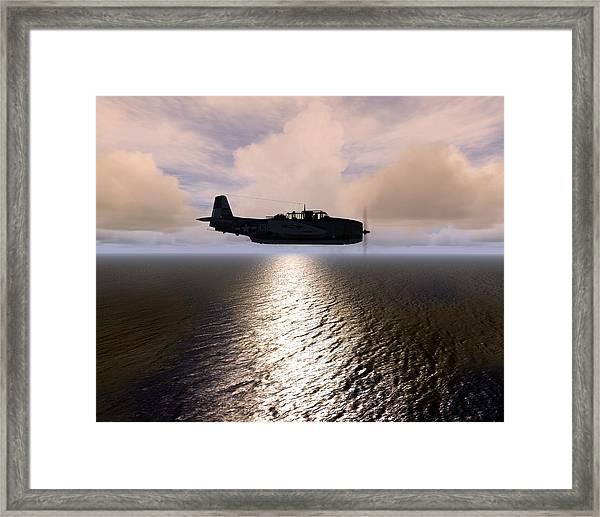 Grumman Tbf 01 Framed Print