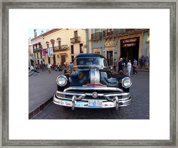 La Funeraria De Pontiac Framed Print