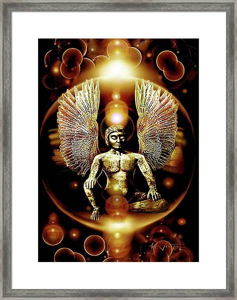 Guardian  Archangel Framed Print