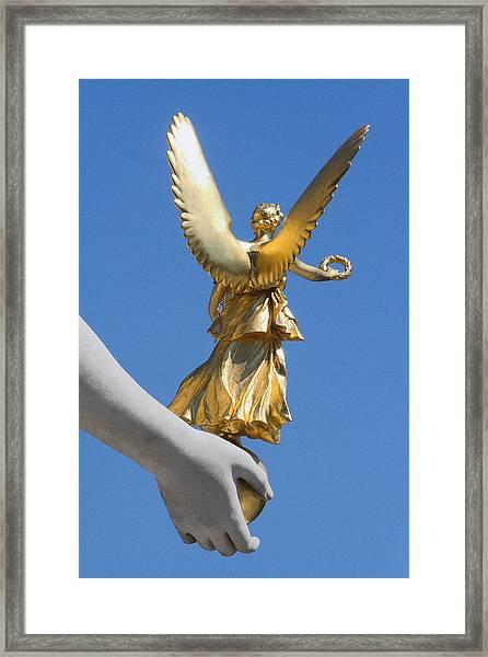 Guided Angel Framed Print