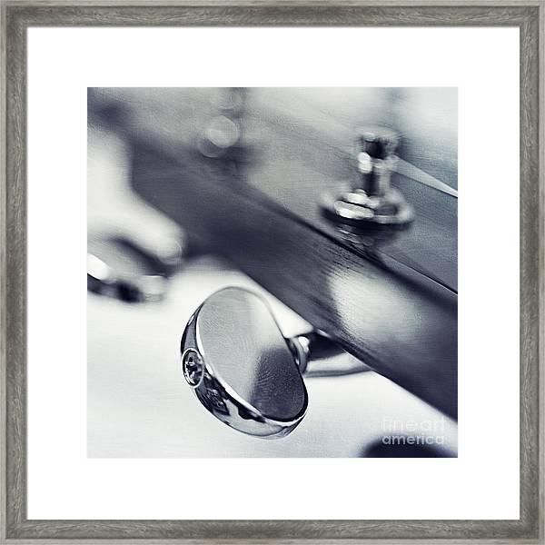 guitar I Framed Print