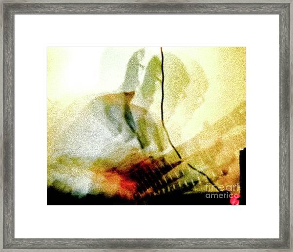 Guitar Player Framed Print