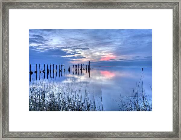 Gulf Reflections Framed Print