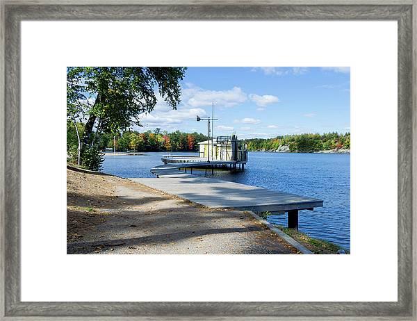 Gull Lake Park Gravenhurst 2 Framed Print