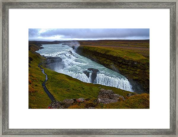 Gullfoss Waterfall #2 - Iceland Framed Print