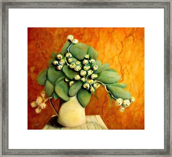 Gumnuts Still Life Framed Print