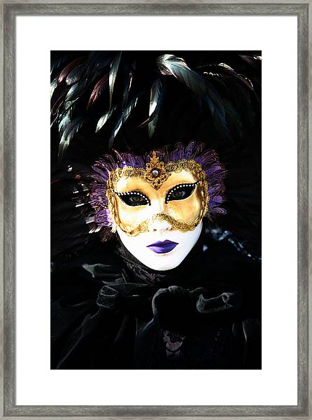 Gunilla Maria's Portrait 2 Framed Print