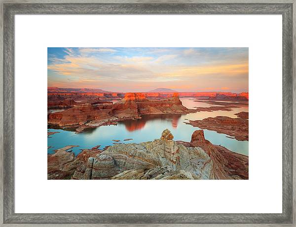 Gunsite Mesa Framed Print