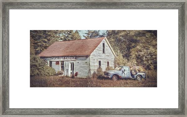 Gus Klenke Garage Framed Print