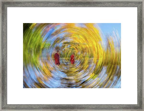 Gust Framed Print