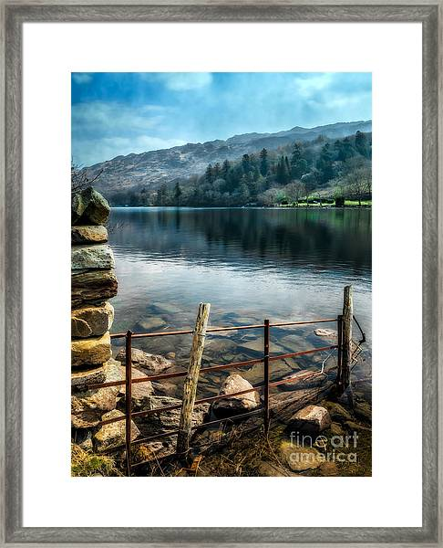 Gwynant Lake Framed Print