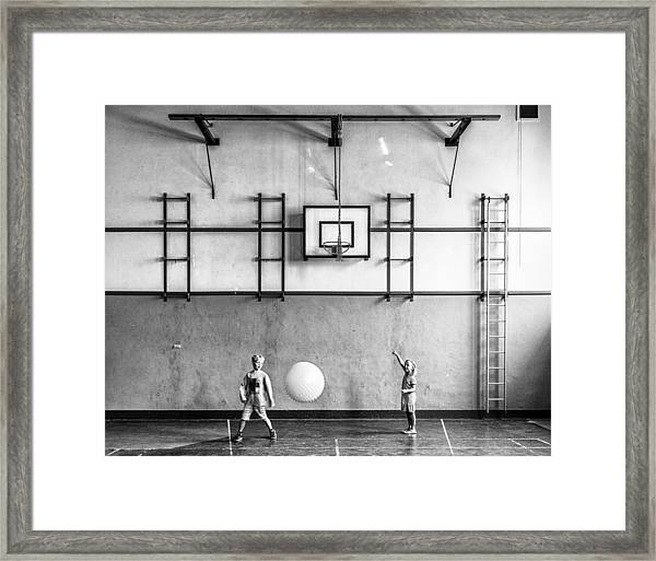 Gym Framed Print