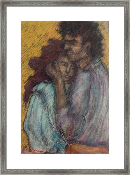 Gypsie Lovers Framed Print