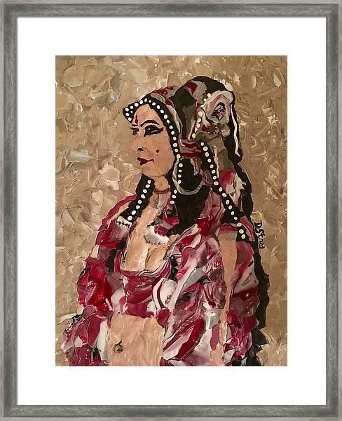 Gypsy Dancer Framed Print