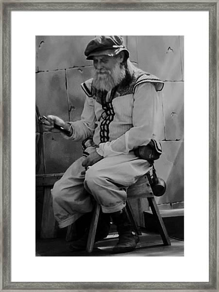 Gypsy Elder Framed Print