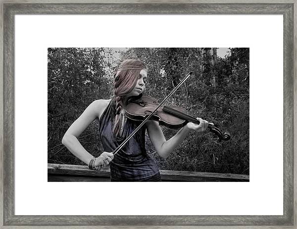 Gypsy Player II Framed Print