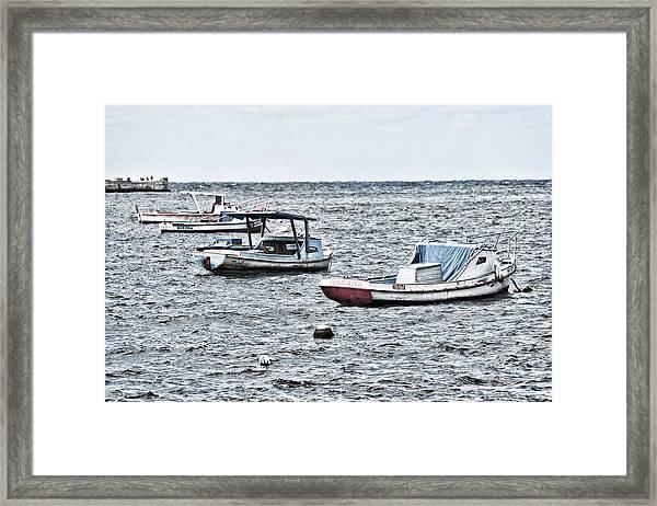 Habana Ocean Ride Framed Print