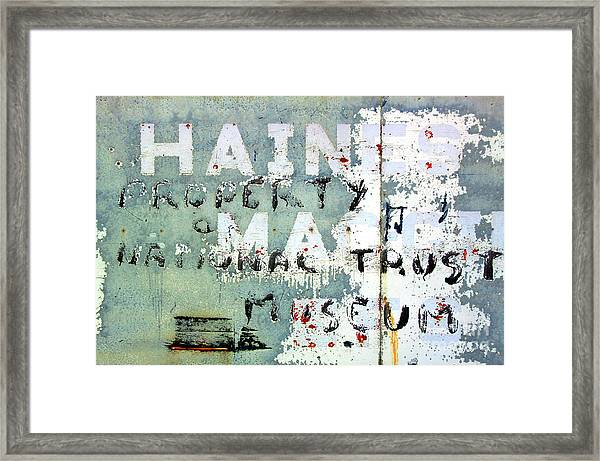 Haines Property Framed Print