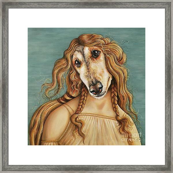 Hair Of The Dog Framed Print