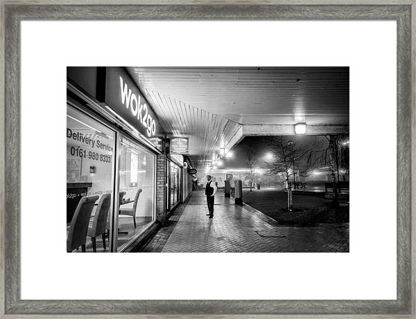 Hale Barns Tandoori And Wok2go Framed Print