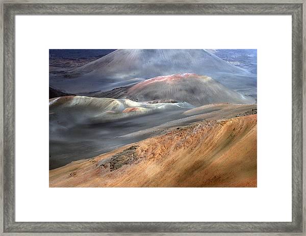 Haleakala, Maui II Framed Print