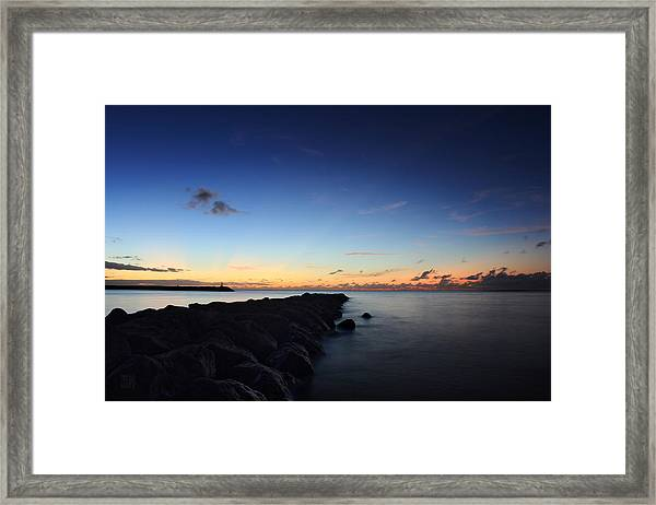 Hale'iwa Harbor Framed Print