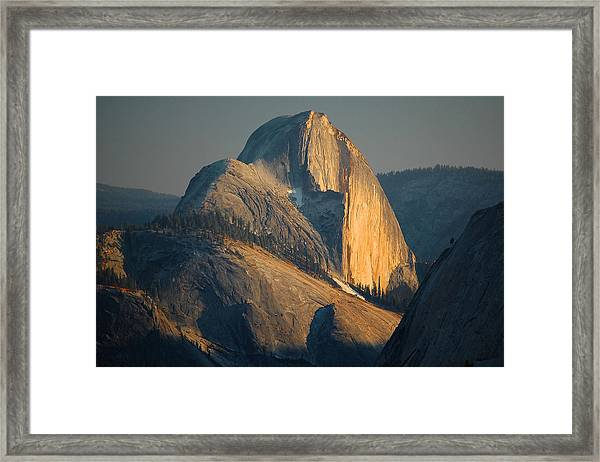 Half Dome At Sunset - Yosemite Framed Print
