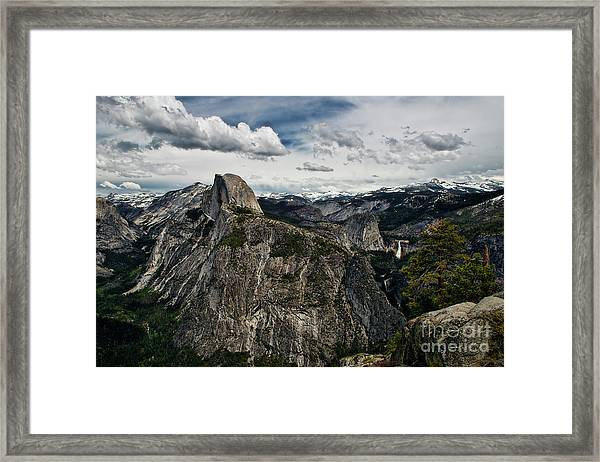 Half Dome At Yosemite Framed Print