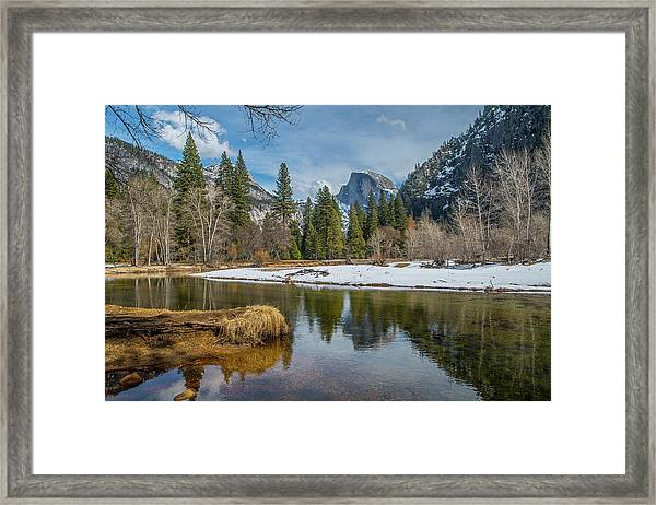 Half Dome Vista Framed Print