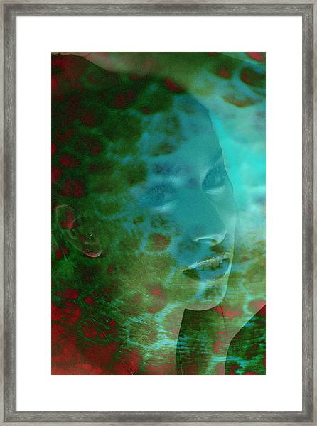 Hall Of Flame Nymph Framed Print