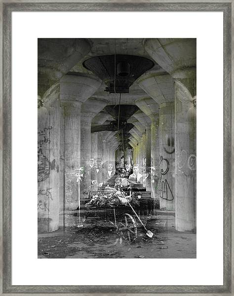 Hall Of Secrets Framed Print