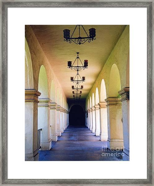 Hallowed Halls Framed Print