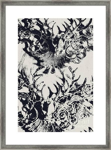 Halls Of Horned Art Framed Print