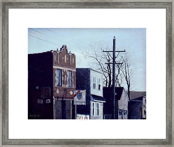 Halsted Framed Print