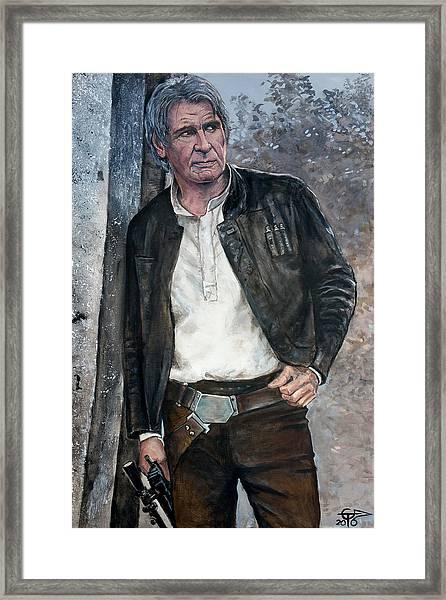 Han Solo Framed Print