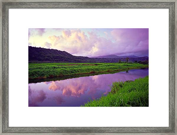 Hanalei Dawn Framed Print by Kevin Smith