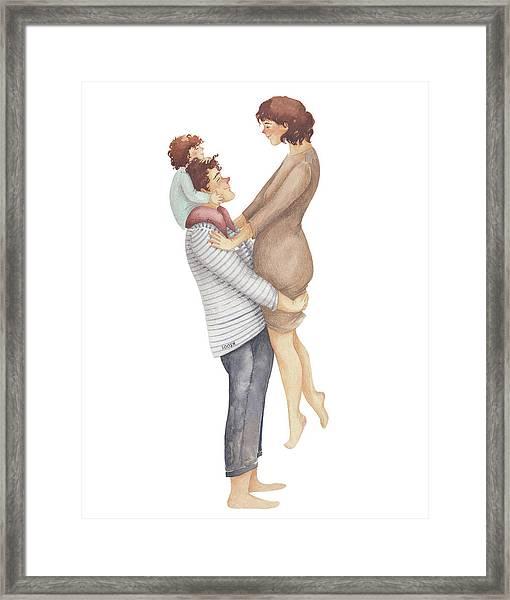 Handful Of Love Framed Print