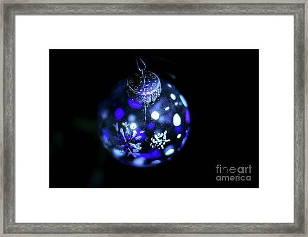 Handpainted Ornament 003 Framed Print