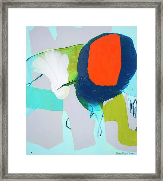 Hang In, Hang Out Framed Print
