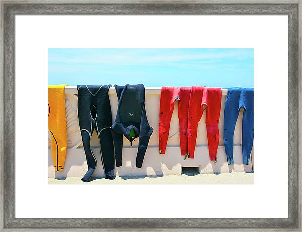 Hang Ten Framed Print