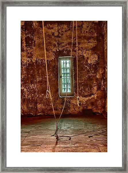 Hanging Room Framed Print